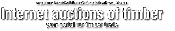 organizer Internet auctions of timber your portal for timber trade